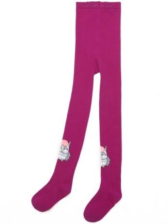 Dětské dívčí punčocháče Wolf P2614 růžové, vel. 104/110