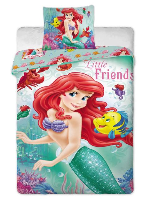 Jerry fabrics Povlečení Ariela 2014 bavlna 140x200 + 70x90 cm