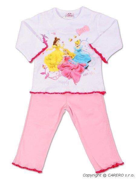 Dětské dívčí pyžamo Andrea Disney Princezny růžové, vel. 80