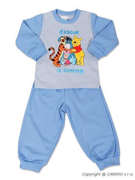 Dětské chlapecké pyžamo Andrea Disney Medvídek PÚ modré, vel. 80