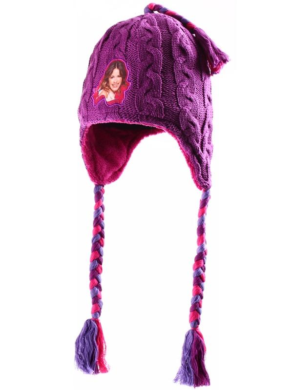 Dětská dívčí zimní čepice Setino 770-533 Violetta fialová, vel. 56
