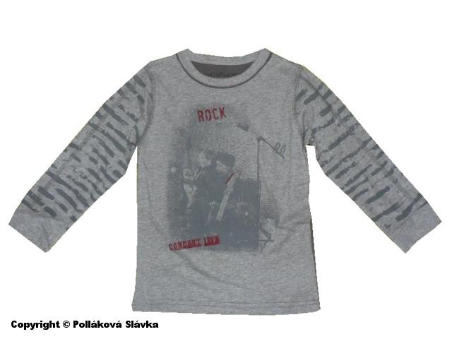 Dětské chllapecké triko dlouhý rukáv Wolf S2333 šedé, vel. 104
