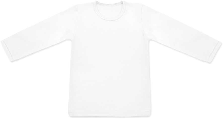 Dětské triko dlouhý rukáv Jožánek Bílé, vel. 104