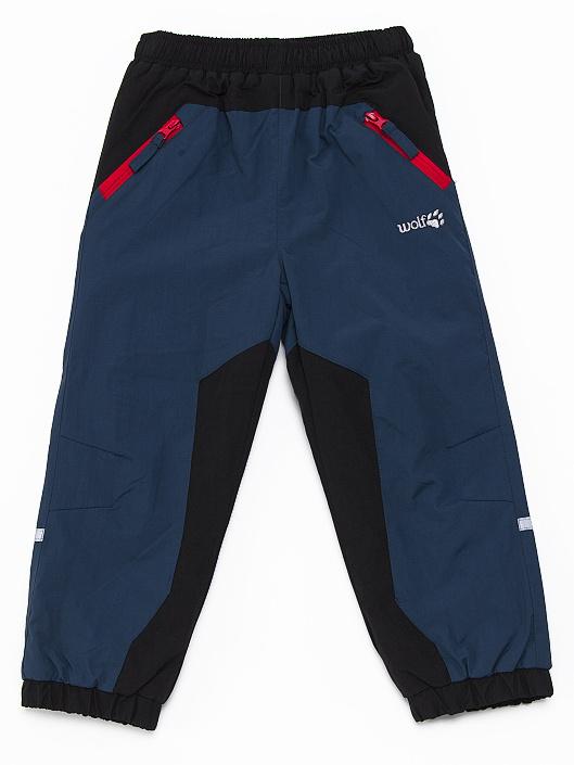Dětské zateplené šusťákové kalhoty Wolf B2671 Petrolejové, vel. 92