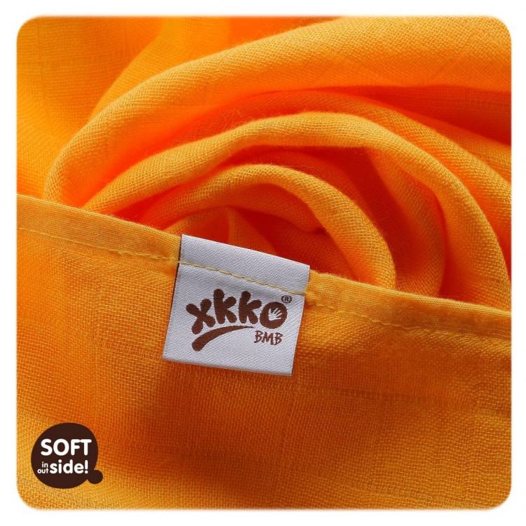 Bambusové pleny KIKKO®BMB Colours 70x70cm 3ks oranžové