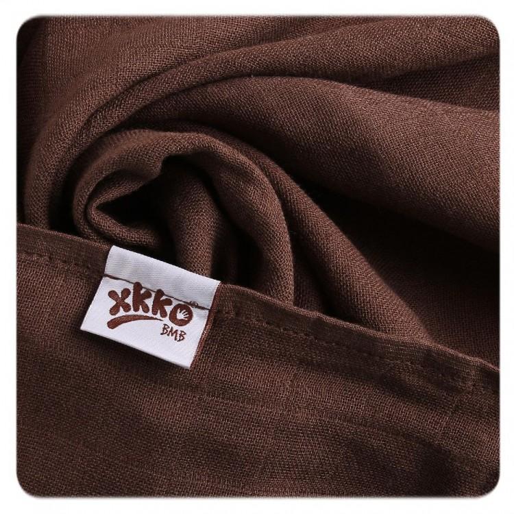 Bambusová osuška XKKO®BMB Dark Choco 90x100 cm