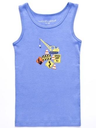Dětské chlapecké spodní tílko Wolf S2662 modré, vel. 98/104