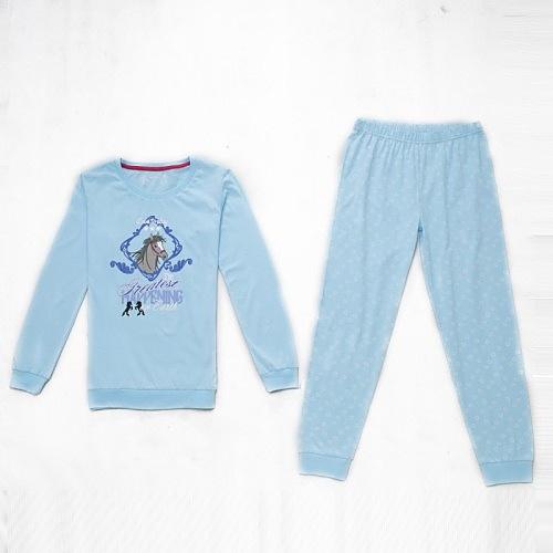 Dětské dívčí pyžamo Wolf S2652 světle modré, vel. 128