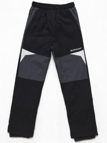Dětské zateplené šusťákové kalhoty Wolf B2674 černé, vel. 104