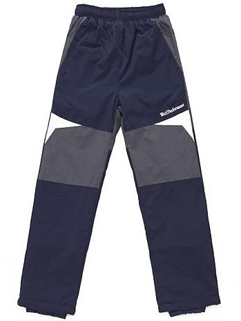 Dětské zateplené šusťákové kalhoty Wolf B2674 tmavě modré, vel. 104