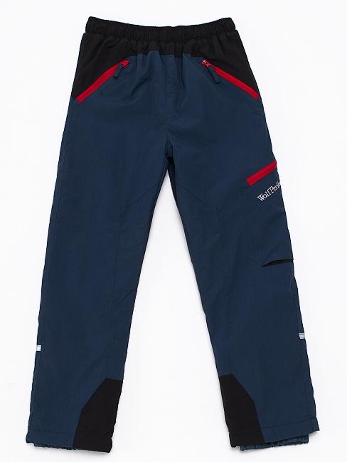 Dětské zateplené šusťákové kalhoty Wolf B2672 Modré, vel. 104