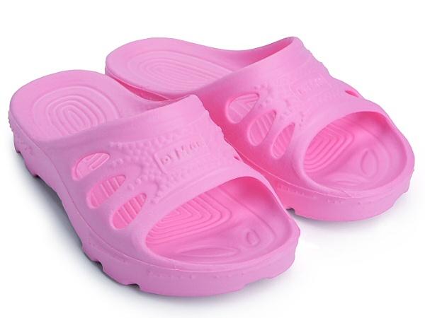 Demar Dětské pantofle Ibiza světle růžové, vel. 30/31