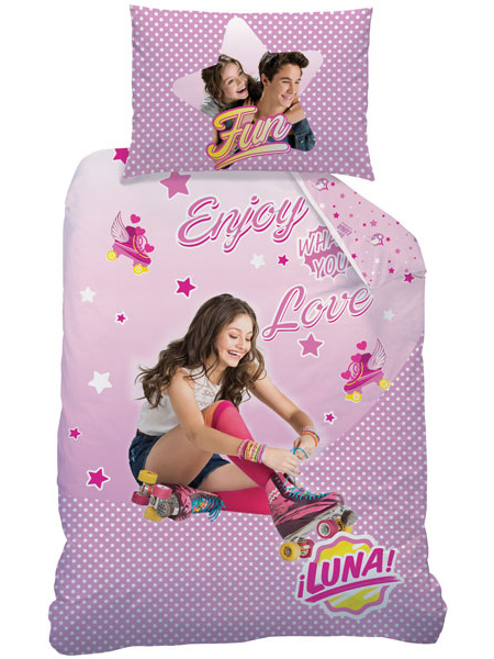 CTI Dětské povlečení Soy Luna Roller bavlna 140x200 + 70x90 cm