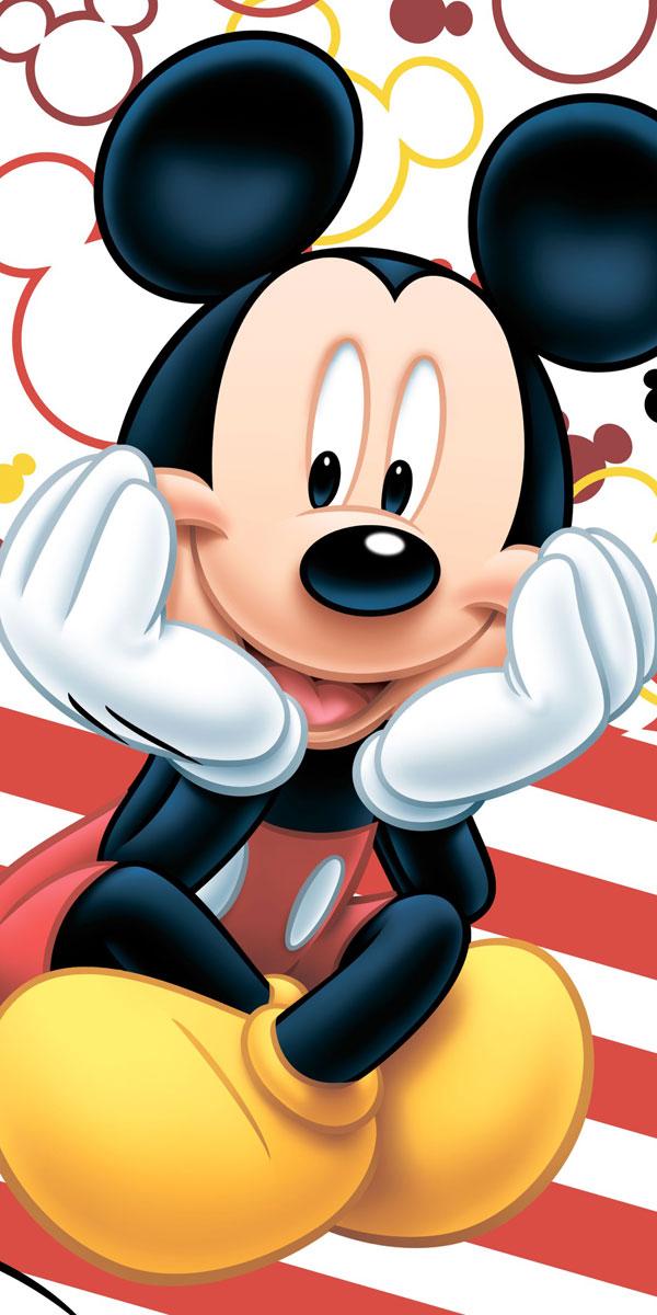 Jerry Fabrics Osuška Micro Mickey polyester 70x140 cm