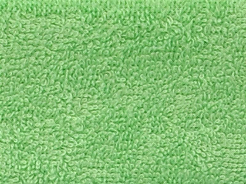 Brotex Písek Froté prostěradlo 80x200 cm, zelené