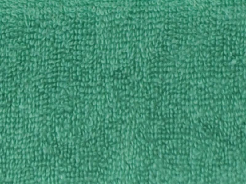 Brotex Písek Froté prostěradlo 80x200 cm, tmavě zelené