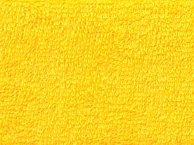 Brotex Písek Froté prostěradlo 80x200 cm, sytě žluté