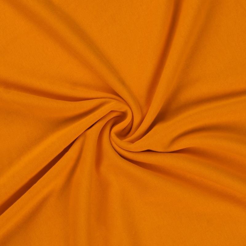 Brotex Písek Jerzey prostěradlo 120x200 cm, oranžové