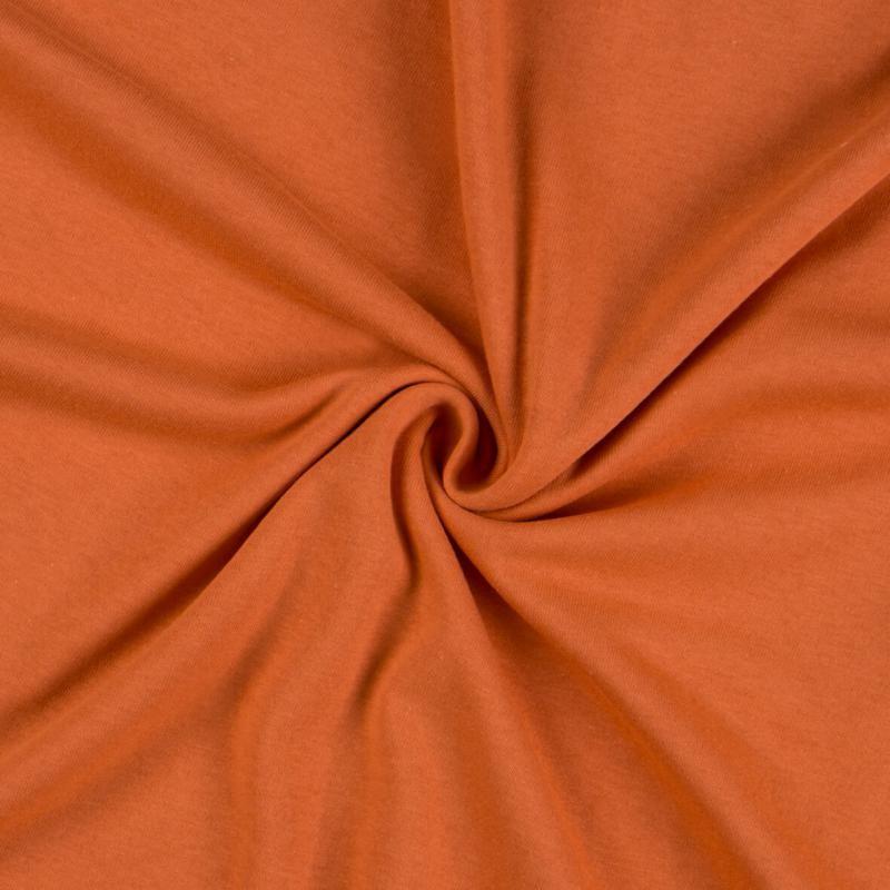 Brotex Písek Jerzey prostěradlo 120x200 cm, terra