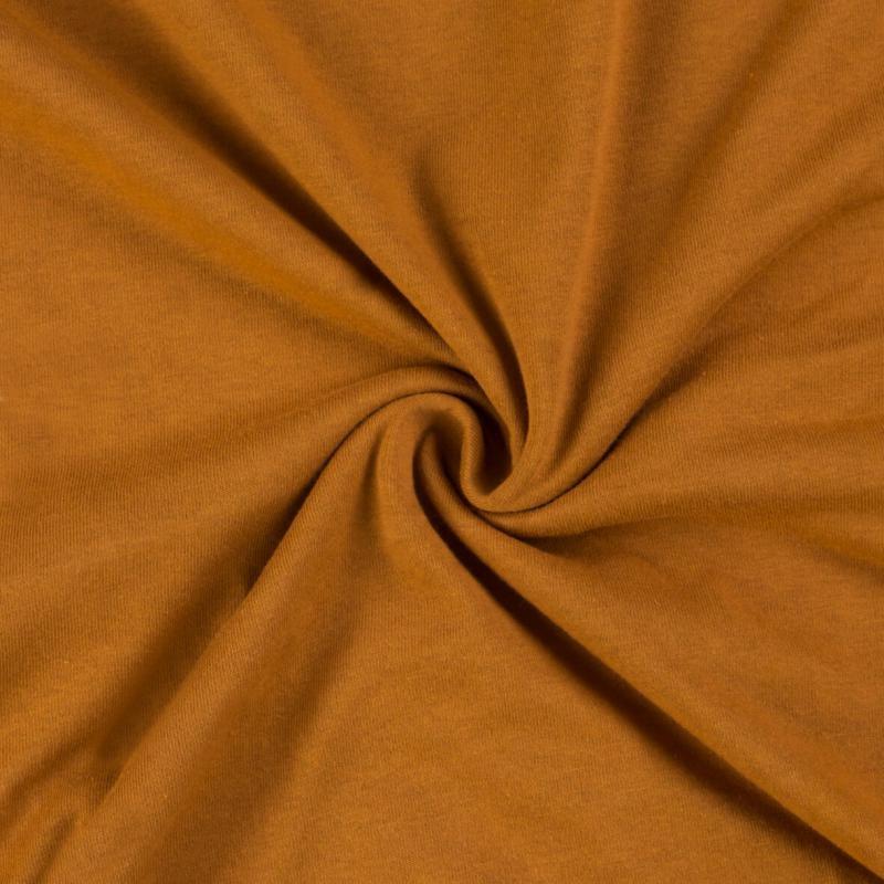 Brotex Písek Jerzey prostěradlo 120x200 cm, hnědé