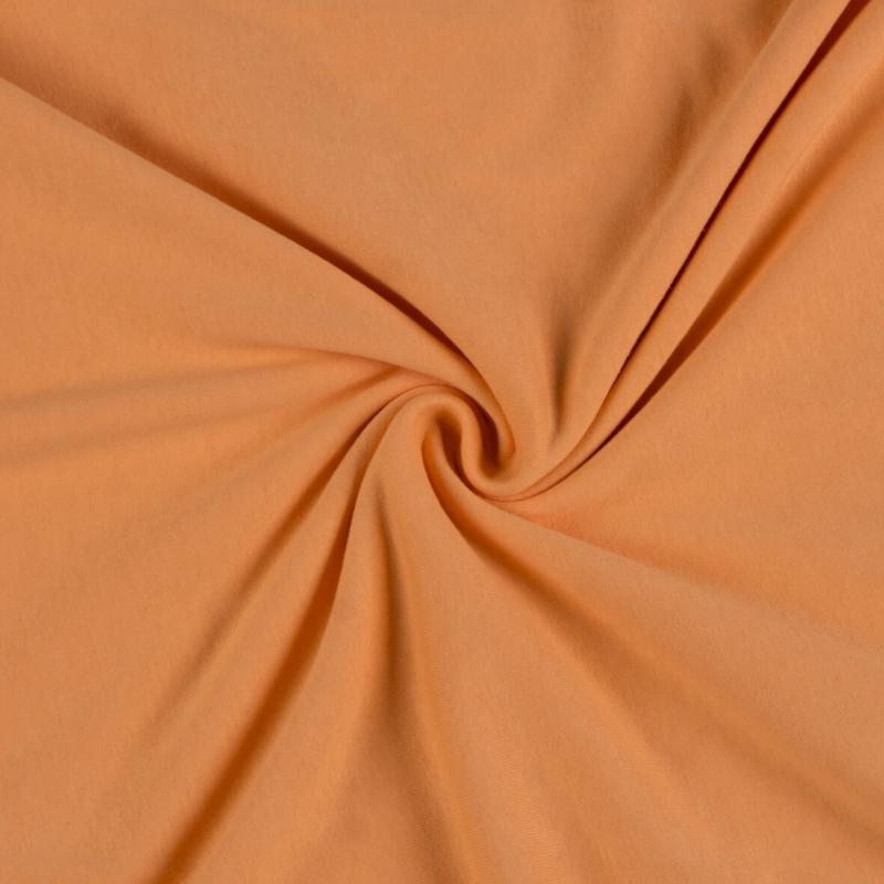 Brotex Písek Jerzey prostěradlo 120x200 cm, lososové