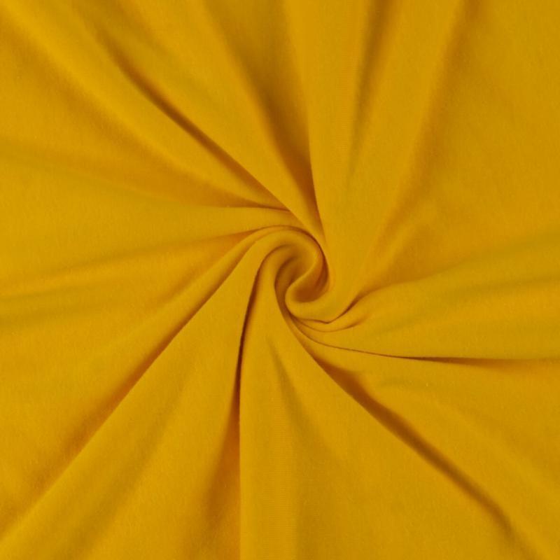 Brotex Písek Jerzey prostěradlo 120x200 cm, sytě žluté