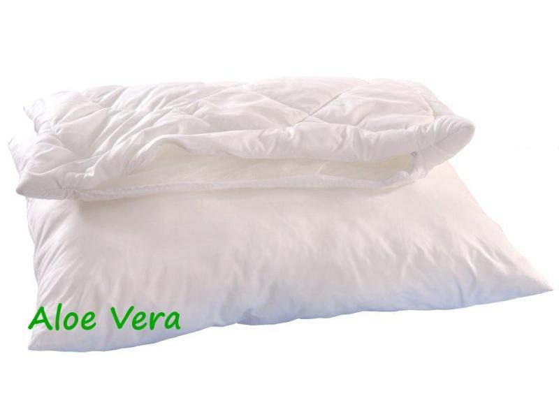 Brotex Písek Polštář ALASKA Aloe Vera 70x90cm 900g 2x zip kuličky UNICO