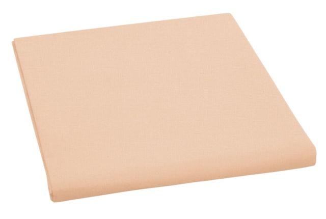 Brotex Písek Napínací prostěradlo bavlněné 90x200cm meruňkové