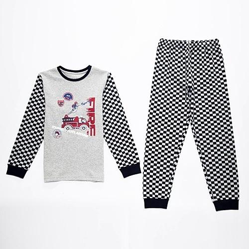 Dětské chlapecké pyžamo Wolf S2668 šedé, vel. 116