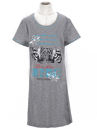 Dětská dívčí noční košile Wolf S2658 Šedá, vel. 158