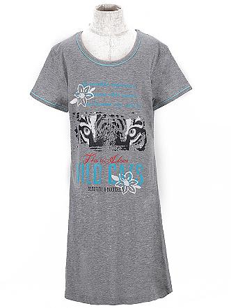 Dětská dívčí noční košile Wolf S2658 Šedá, vel. 140
