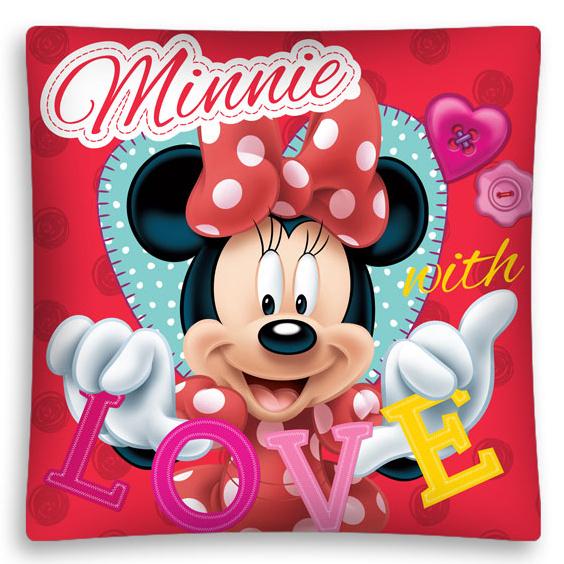 Detexpol Povlak na polštář Minnie love micro 40x40 cm