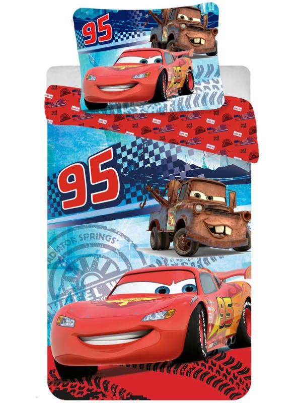 Jerry Fabrics Povlečení Cars speed bavlna 140x200 70x90 cm