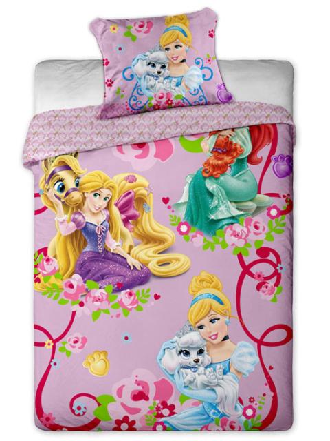 Jerry fabrics Povlečení Princezny 2015 bavlna 140x200 + 70x90 cm