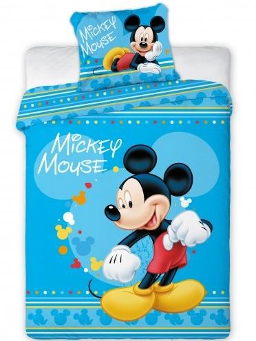 Faro Povlečení do postýlky Mickey Mouse 033 bavlna 100x135 + 60x40 cm