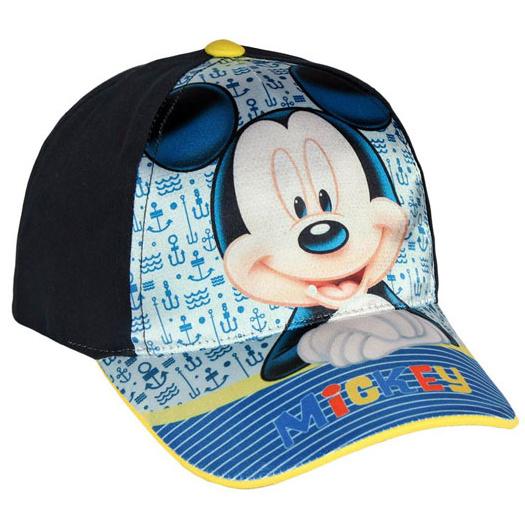 Cerda Dětská chlapecká kšiltovka Mickey modrá, vel. 52