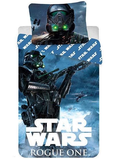 Jerry Fabrics Povlečení Star Wars Rogue One bavlna 140x200 + 70x90 cm