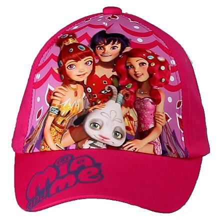 Dětská dívčí kšiltovka Mia and Me Setino 770-726 tmavě růžová, vel. 54
