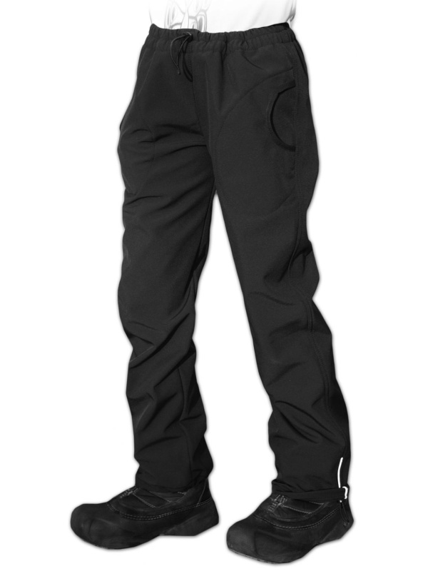 Dětské softshellové kalhoty Jožánek černé, vel. 128