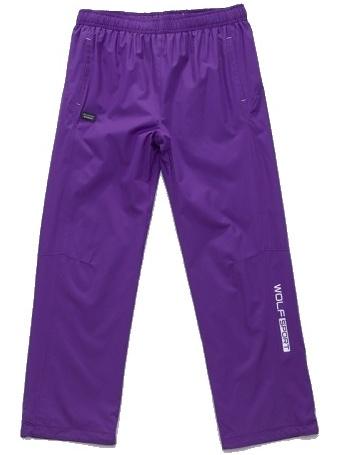 Dětské šusťákové kalhoty Wolf T2751 fialové, vel. 134
