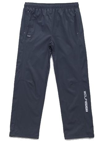 Dětské šusťákové kalhoty Wolf T2751 šedé, vel. 134