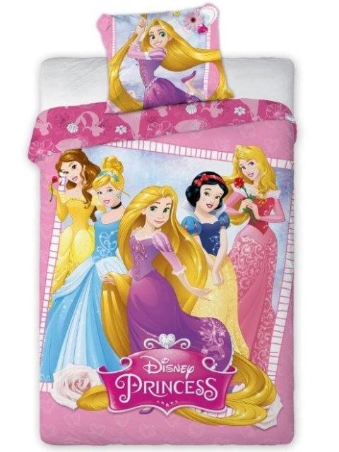 Faro Povlečení Princess 001 bavlna 140x200 + 70x90 cm