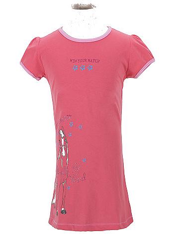 Dětská dívčí noční košile Wolf S2657 lososová, vel. 104