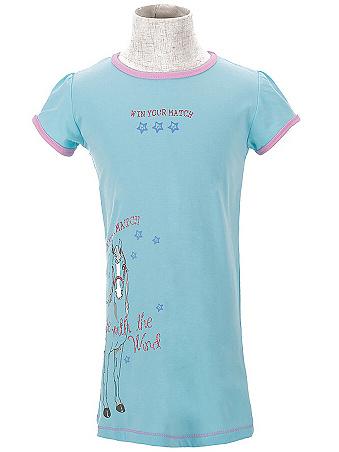 Dětská dívčí noční košile Wolf S2657 modrá, vel. 122