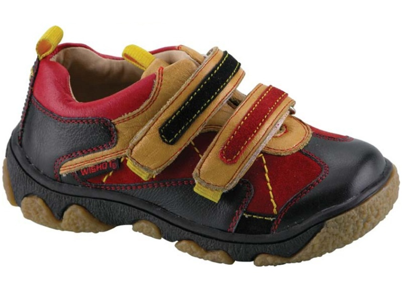 Dětská kožená vycházková obuv Wishot, vel. 25