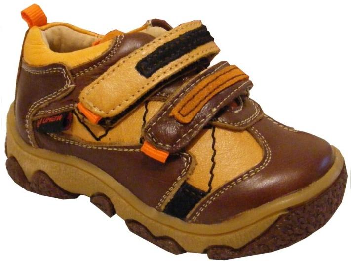 Dětská kožená vycházková obuv Wishot, vel. 23