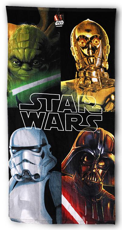 Setino 820-807 Dětská osuška Star Wars 03 70x140 cm