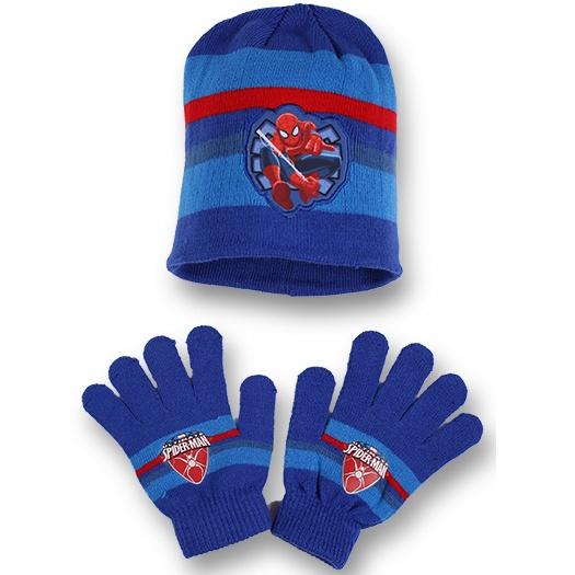 Setino 780-222 Dětský zimní set Spiderman modrý