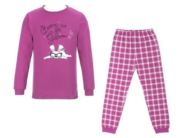 Dívčí pyžamo Wolf S2653 Fialové, vel. 170