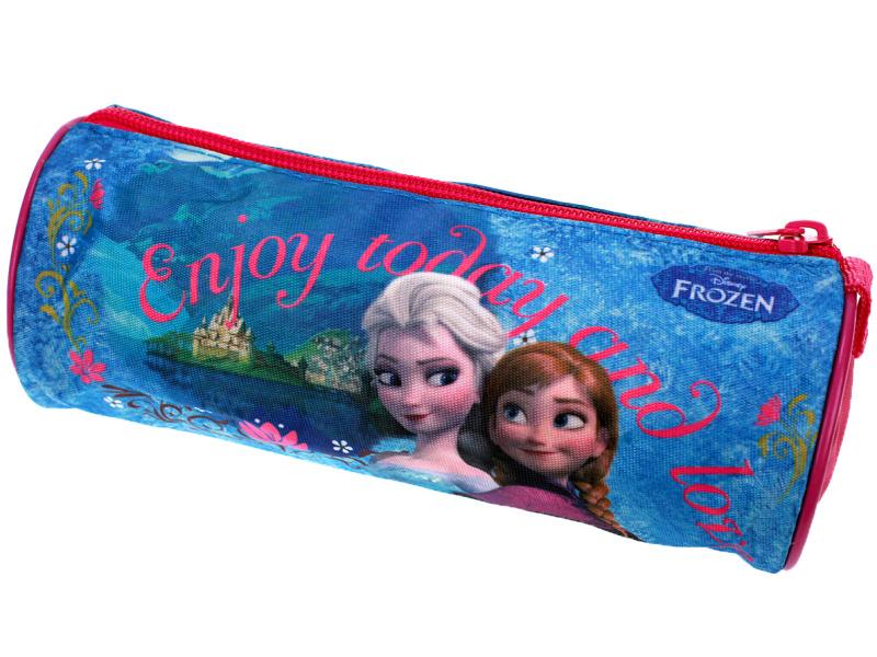 Setino 600-235 Dětský dívčí kulatý penál Frozen 7x22 cm